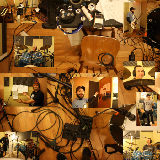 recording-collage